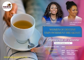 Women of Destiny Empowerment Breakfast